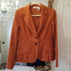 Corduroy Liz Claiborne Blazer Rust